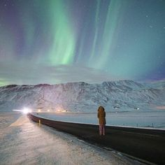 It was the beginning of our first night experiencing the #northernlights. We could see the faint green glow while driving towards the town of #Akureyri and had to pull over. We spent hours in aw staring out at the #sky watching what will forever be remembered as one of the greatest nights of our lives.#MyCanonStory  Photo Credit: @tylerhalvorsen Camera: #Canon EOS 5D Mark III Lens: Canon EF 24-70mm f/2.8L II USM Aperture: f/2.8 ISO: 2000 Shutter Speed: 20 sec Focal Length: 24mm  via Canon on…