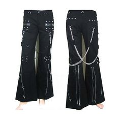 Punk Rock Outfits, Gothic Outfits, Edgy Outfits, Cool Outfits, Punk Fashion, Lolita Fashion, Gothic Fashion, Lolita Cosplay, Trouser Outfits