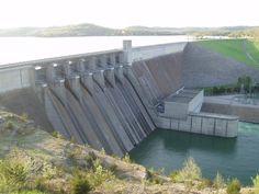 The dam at Beaver Lake, Arkansas