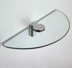 "Colombo Design ""Luna"" Natural Glass Shelf"" from Cabinet Knobs and More"