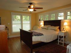 craftsman bedrooms   master bedroom with craftsman style trim