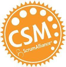 I am Certified Scrum Master (CSM).
