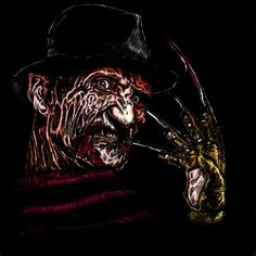 Freddy Krueger by Anikeyy