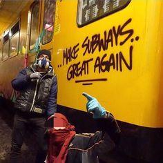 Berlin @dr.metrohunter _______________________ #madstylers#make #subway #great #again #magdeburg #potsdam #berlin#metro #u #bahn #train #writer #graffiti #art #full #colour