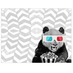 Paxton the Panda Print