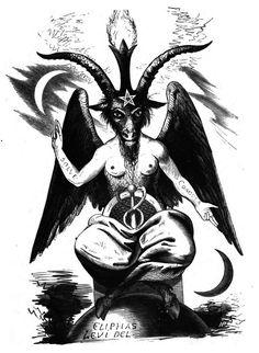 Dnes bývá templářům mylně připisován (patrně kvůli stejnému názvu) i tento Bafomet od francouzského okultisty Eliphase Léviho, ten však byl vymyšlen a nakreslen Lévim až v 19. století