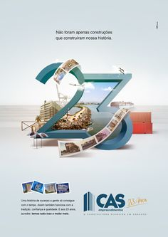 CAS - 23 ANOS on Behance