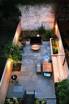 6 Backyard Patio Designs 35 Modern outdoor patio designs that will blow your mind Small Backyard Design, Outdoor Patio Designs, Backyard Ideas For Small Yards, Backyard Layout, Small Backyard Landscaping, Backyard Garden Design, Small Patio, Outdoor Decor, Patio Ideas