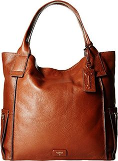 Fossil Womens Emerson Tote Brown Tote *** Read more reviews of the product by visiting the link on the image.