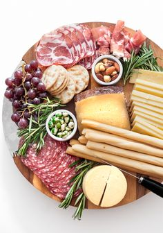 Cheese board ideas.