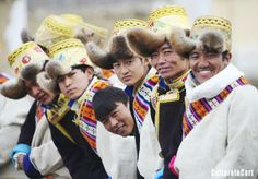 """People of the Tibetan ethnic group embraced the """"Wood Horse Losar"""" on March 2, the first day of the Tibetan New Year. The """"Losar"""" is ususally celebrated for 15 days, during which people have a tradition to wear their gorgeous costumes."""
