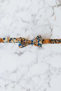 Marigold Floral Bow Tie | Neck & Tie Co.