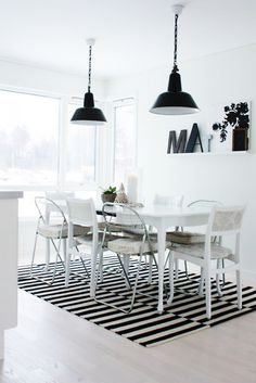 considering this rug (Ikea) for the dining room