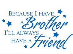 Best brothers in the world
