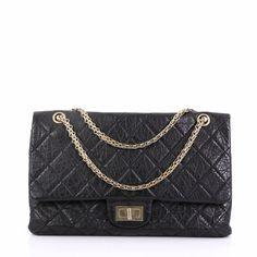d05b9efa5bc7 Chanel Reissue 2.55 Handbag Quilted Aged Calfskin 227