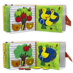 Flower Quiet Book for girl busy book Personalized Soft Book