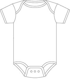 Onesie Template for Baby Predictions