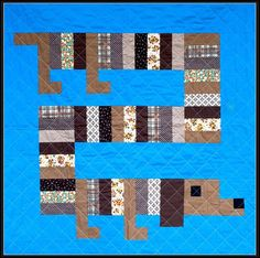 I'm a Weiner Quilt by Boo Davis....making this for Amanda's new baby