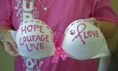 participate in the decorate a bra for the cause (breast cancer awareness) in The Dalles that takes place in SEPTEMBER