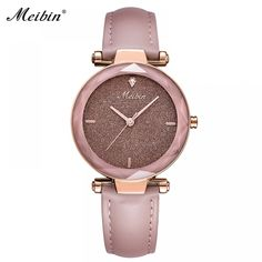 2018 MEIBIN Brand Luxury Ladies Watch Fashion Starry Sky Dial Women Quartz Watches Casual Leather Dress Clock Montre Femme Gifts  Price: 339.00 & FREE Shipping  #fashion|#sport|#tech|#lifestyle