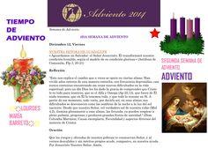 ORACIÓN. Diciembre 12º, VIERNES 2014. 3RA SEMANA DE ADVIENTO ҉҉LOURDES MARÍA BARRETO҉҉