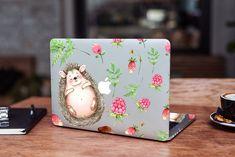 Raspberry MacBook Pro 13 2019 Skin Wild Strawberry MacBook Pro 13 2018 Cute Hedgehog MacBook Pro 16 Decal Summer MacBook 16 Skin MacBook 15 by DesignerSkinUA on Etsy Macbook 15 Inch, Macbook Air 11, Macbook Pro Retina, How To Make Stickers, Cool Stickers, Mac Decals, Macbook Skin, Cute Hedgehog