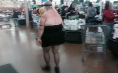 Little Black Mini Dress- Funny Pictures at Walmart