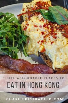 Three affordable places in eat in Hong Kong