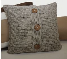 13 Elegant Knitted Pillow Patterns Worth Trying - Sizzle Stich