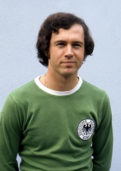 "Franz Beckenbauer ""El Kaiser"", one of only 2 men to win the World Cup as a player and a coach."