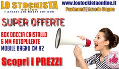Lo Stockista | 2 Super Offerte Per L'arredo Bagno http://affariok.blogspot.it/