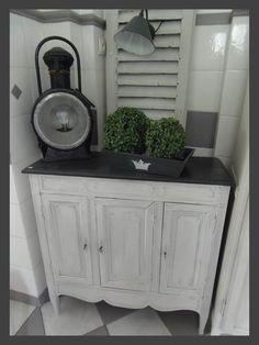 bonneti re patine ficelle avec grillage meubles patin s au c ur d 39 autrefois pinterest. Black Bedroom Furniture Sets. Home Design Ideas