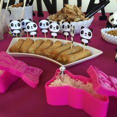 Montando minha festa: Festa de aniversário tema Panda para meninas!