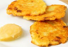 Parsnip sweet potato latkes