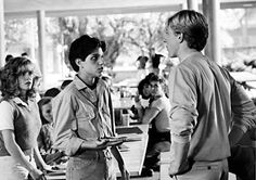 THE KARATE KID, Elisabeth Shue, Ralph Macchio, William Zabka, 1984. (c)Columbia Pictures.