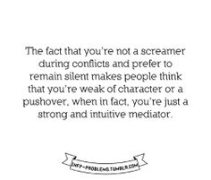INFJ/P Problems. and the problem is, I stutter whenever I want to talk back. Dang!