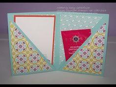 FUN FOLDS Double Corner Pocket Card with Kelly Gettelfinger