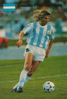 caniggia, BEFORE BOLT THERE WAS THE CANIGGIA (THE BIRD)