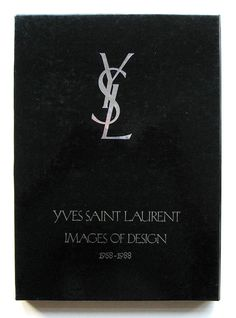 Images of Design Yves Saint Laurent Fashion Coffee Table Books, Coffee And Books, Fashion Books, Book Cover Design, Book Design, Books To Read, My Books, Seeing Quotes, Saint Laurent