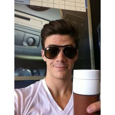 grant gustin is love. ❤ liked on Polyvore featuring grant gustin