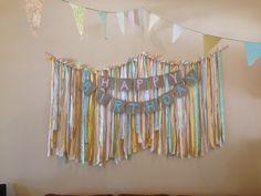 Happy birthday banner 1st birthday decorations