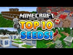 TOP 10 BEST SEEDS for 1.1 Minecraft Pocket Edition!! - YouTube