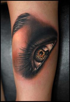 Smokey Eye Tattoo Design