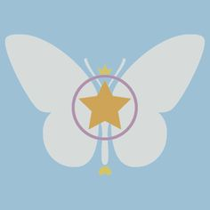 ButterStar - Redbubble T-Shirt #StarButterfly #star #evil #StarVsTheForcesOfEvil #magicalgirl #wand #unicorn, #butterfly #magic #MarcoDiaz #Ludo #rainbow