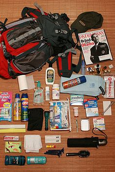 """""""Assemble an Emergency Roadside Kit for Winter""""  -I'm sorry, but if you're winter emergency kit includes deodorant and razors, you belong stuck in a drift."""