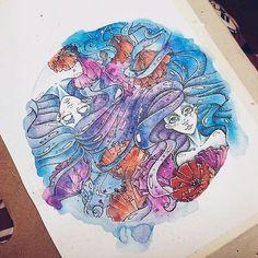 Instagram photo by @doodle_and_sketch via ink361.com