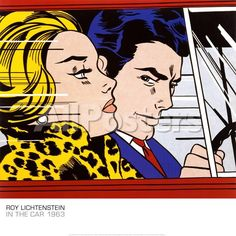 roy-lichtenstein-in-the-car-c-1963_a-G-6269627-0.jpg 775×775 pixels
