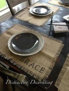 20 detalles decorativos hechos con arpillera & 20 Decoratives details made with burlap Home Decor Fabric, Home Decor Furniture, Sisal, Home Crafts, Diy Crafts, Burlap Crafts, Mug Rugs, Cheap Home Decor, Seasonal Decor