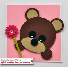 Splotch Design - Jacquii McLeay Independent Stampin' Up! Demonstrator: Children's Craft Birthday Parties