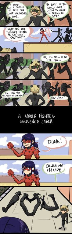 I sure wish Adrian did that to me if I was ladybug